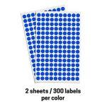 1 cm Multicolore Cercle Ronde Gommettes Autocollants - 10 Assortis Couleurs, Paquet de 3000 de la marque TownStix image 3 produit