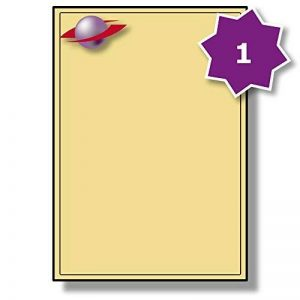 1 Par Feuille, 25 Feuilles, 25 Étiquettes. Label Planet® Etiquettes Crème A4 sur Papier Matte pour Impression Jet d'encre et Laser 199.6 x 289.1mm, LP1/199 CCR. de la marque Label Planet image 0 produit