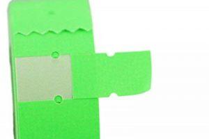 (10rouleaux) Vert 21x 12mm Papier coloré Autocollant Prix Gun Pricemarker étiquettes MX-5500 de la marque Labels image 0 produit