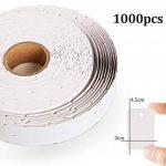 1000 Etiquettes de Prix 30 x 45 mm Blanc Marquage Tag Étiquettes de Bijoux Étiquette de Vêtements par 1Plusselect de la marque 1Plusselect image 1 produit
