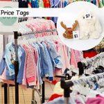 1000 Etiquettes de Prix 30 x 45 mm Blanc Marquage Tag Étiquettes de Bijoux Étiquette de Vêtements par 1Plusselect de la marque 1Plusselect image 2 produit