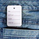 1000pcs Prix étiquettes étiquettes, la fabrication de vêtements, DE Vêtements, 3.5cm*5cm Stock des Services de la marque G2PLUS image 3 produit