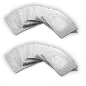 1000 POCHETTES aUTOCOLLANTES eN paPIER aVEC rABAT pOUR cD dVD bLU-rAY bRUTS de la marque TRENDSKY image 0 produit