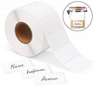 1Plusselect 1000 Etiquettes Adhésives 60 X 30 mm pour Imprimer Les Adresses de Courrier Mailing, un Rouleau de la marque 1Plusselect image 0 produit