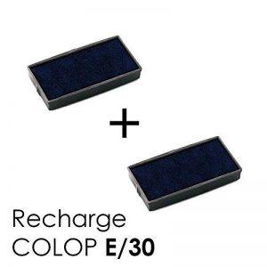 2 Cassette d'encre E/30 recharge pour tampon COLOP Printer 30 Noir de la marque Générique image 0 produit
