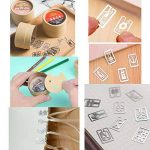 2 pcs Mini marque-page livre cadeau papeterie ligne marqueur aléatoire style Set de la marque Black Temptation image 1 produit