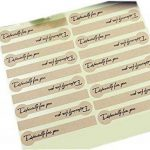 20Feuilles 360pcs Bande Kraft spécialement pour vous Autocollant DIY Emballage cadeau fête de mariage étiquette carte Stickers pâtisseries Maison faite à la main Cookie Candy Stickers de la marque Rimandy image 1 produit