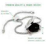 25mm réglable Bracelet Diffuseur d'huile essentielle–Animal–Bijoux en acier inoxydable Médaillon Bracelet par Jaoyu de la marque JAOYU image 3 produit