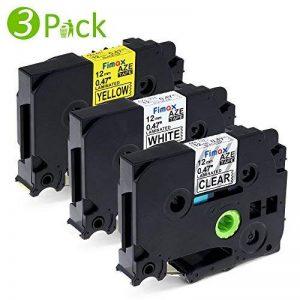 3 Ruban pour Etiqueteuse 12mm Brother P-touch (TZe-231 TZe-131 TZe-631) Laminé Ruban Cassettes Compatible Brother PT-H100LB PT-E100 PT-D400 PT-1250 PT-H110 de la marque Fimax image 0 produit