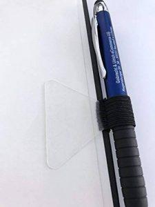 3X passant à stylo–étiquette porte-stylo–Noir–élastique–pour ordinateurs portables, revues, agendas, l'Ordre de la marque Gobrecht & Ulrich image 0 produit