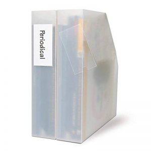 3L Porte-étiquettes adhésifs 35x75 Lot de 1 Sachet de 12 porte étiquettes adhésifs 3L, étiquettes amovibles, format 35x75 mm de la marque 3L image 0 produit