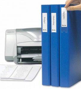 3L Porte-étiquettes auto-adhésif en polypropylène avec insert imprimables Cartes 35x 75mm Réf 10321[Lot de 48] de la marque 3L image 0 produit