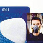 3M Filtres Anti poussière 5911 P1 R pour Masque 3M - 6 pièces / 3 Paires et SmartProduct Tampons Alcool 2 pièce de la marque SmartProduct image 3 produit