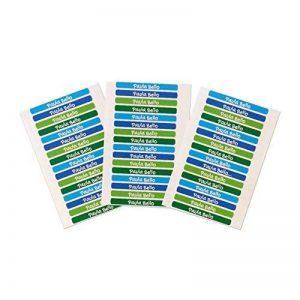 50 Autocollants crayon et stylo 4,2 x 0'5cm , pour la maternelle et l'école. Palette 5 de la marque Haberdashery Online image 0 produit