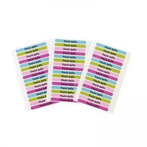 50 Autocollants crayon et stylo 4'2 x 0'5cm , pour la maternelle et l'école. Palette 9 de la marque Haberdashery Online image 0 produit