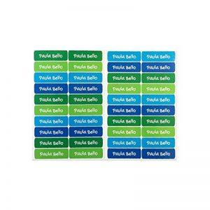 50 étiquettes adhésives pour couvre-clés objets 6 x 2 cm. Couleur 5 de la marque Haberdashery Online image 0 produit