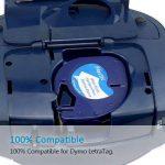 5PK Compatible Dymo LetraTag Ruban Plastique - 12mm x 4m 91201 S0721610 - Noir sur Blanc pour Étiqueteuse Dymo LetraTag LT-100H LT-100T LT-110T QX 50 XR XM 2000 Plus de la marque Fimax image 3 produit