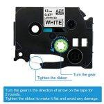5x Brother Ruban TZe 12mm TZe-B31 TZe-C31 TZe-D31 TZe-231 Ruban Cassette Noir sur Blanc / Jaune / Orang / Vert 12mm x 8m Compatible avec Brother P-touch PT-1000 GL-H105 GL-200 PTE-550WVP Machines d'impression d'étiquettes PT-P700 PT-H300 de la marque KIPE image 4 produit