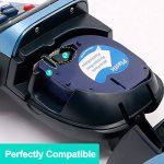 6 Rubans pour Dymo LetraTag Plastique étiquette 12mm x 4m, Compatible avec Dymo LetraTag LT-100H, LT-100T/Plus, LT-110T, QX 50, XR, XM, 2000, Dymo 91201, 12267, 91202, 91203, 91204, 91205 (Lot de 6) de la marque Markurlife image 1 produit