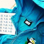 60 x Étiquettes Autocollantes Pour Vêtements, Doudous Et Affaires | Stickers Personnalisés | S'appliquent Sans Couture Ni Repassage de la marque Juste Coller image 3 produit