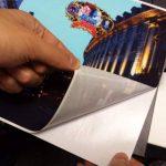 A4X 10sheets–Tissu adhésif autocollant pour imprimantes jet d'encre, amovible et repositionnable de la marque Altiel image 3 produit