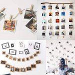 Absofine 328 Pieds Ficelle de jute et 100 pièces Mini en bois naturel Craft Pinces à linge Craft Pinces à linge Clips pour jardinage Applications, arts Crafts Cadeau de Noël de la marque Absofine image 4 produit