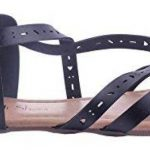 AgeeMi Shoes FemmeCouleur Unie Non Talon Boucle PU Cuir Sandales de la marque AgeeMi-Shoes image 1 produit