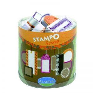 Aladine - 03711 - Tampons À Imprimer - Stampo Scrap - Etiquettes de la marque Aladine image 0 produit