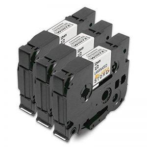 Alaskaprint 3x Compatible Ruban Cassette Brother P-Touch TZe-231 TZ-231 Noir sur Blanc 12mm x 8m pour Tze Tape Brother P-Touch PT-1000 1830 1280 1750 GL-H100 GL-H105 GL-200 PT-1080 PTE-550WVP PT-P700 PT-H300 PT-1005 PT-1010 PT-1090 PT-1200 PT-1250 de la m image 0 produit