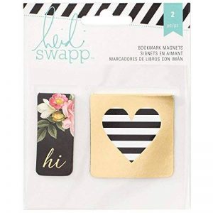 American Crafts Heidi Swapp Marque-Page Signets en Aimants, Acrylique, Multicolore de la marque American Crafts image 0 produit