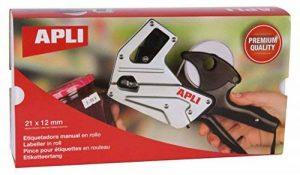 Apli 101948 Pince à Étiqueter Haute Qualité, 1 ligne/8 Caractères, 8mm de la marque Apli image 0 produit