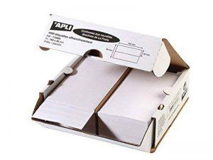 Apli 115498 Lot de 1000 2P Etiquettes 140 x 40 mm Planche de la marque Apli image 0 produit