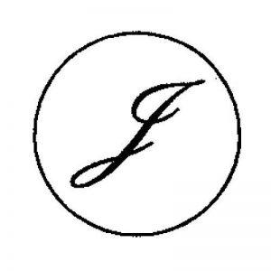 Artemio Tampon encreur pour sceau Motif lettre J Doré 18mm de la marque Artemio image 0 produit