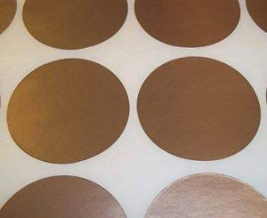 Audioprint Ltd. Lot De 1000 Rond Contrôle Des Stocks Points De Code De Couleur Vierge Stickers Étiquettes Autocollantes - Or, 25mm de la marque Audioprint Ltd. image 0 produit