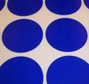 Audioprint Ltd. Paquet De 200 Rond Points De Code De Couleur Autocollants Blanc Prix Étiquettes Autocollantes - Bleu Foncé, 45mm de la marque Audioprint Ltd. image 0 produit