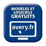 Avery 240 Etiquettes Autocollantes Rondes Couleur Kraft (12 par Feuille) - Ø60mm - Impression Laser, Jet d'Encre (L7106) de la marque Avery image 1 produit