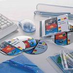 Avery 40 Etiquettes pour CD/DVD - Ø117mm - Impression Laser - Blanc (L7860) de la marque Avery image 1 produit