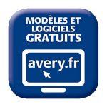Avery 50 Etiquettes Autocollantes pour CD - Ø117mm- Impression Laser, Jet d'Encre - Blanc(L6043) de la marque Avery image 2 produit
