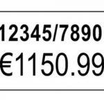Avery Boîte de 10 rouleaux de 1200 Etiquettes Autocollantes Amovibles pour Etiqueteuse 2 lignes - 16x26mm - Blanc (PLR1626) de la marque Avery image 2 produit