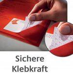 Avery J8162-25 Étiquettes adresse Pour enveloppes C5/C6 99,1 x 33,9 mm 25 feuilles / 400 étiquettes (Import Allemagne) de la marque Avery image 4 produit