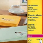 Avery Étiquettes adresse Laser Transparent (Import Royaume Uni) de la marque Avery image 1 produit