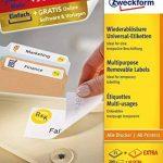 Avery Zweckform Paquet de 200 étiquettes repositionnables 96 x 63,5 mm (Blanc) (Import Allemagne) de la marque Avery image 1 produit
