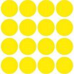 Avery Zweckform étiquette 18mm point de marquage jaune, repositionnable, 96st de la marque Avery image 3 produit