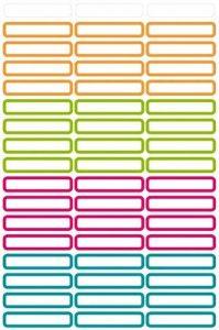 Avery Zweckform Étiquettes Stylos Étiquettes Blanc 31x 6mm, 51 de la marque Avery image 0 produit