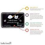 Bella Beso pattes de chat et chien pour animal domestique kit–sécuritaire d'encre avec sac à cordon de la marque Bella Beso image 1 produit