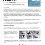 Bois Mounted Tampon encreur personnalisé Monogramme Stamp Engagement Cadeau de la marque Printtoo image 3 produit