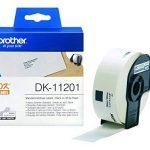 Brother Original DK11201 Noir sur Blanc Étiquettes Adresses   29 x 90 mm   400 étiquette(s) de la marque Brother image 2 produit