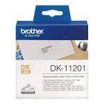Brother Original DK11201 Noir sur Blanc Étiquettes Adresses   29 x 90 mm   400 étiquette(s) de la marque Brother image 3 produit