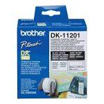 Brother Original DK11201 Noir sur Blanc Étiquettes Adresses | 29 x 90 mm | 400 étiquette(s) de la marque Brother image 4 produit