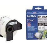Brother Original DK22205 Noir sur Blanc Papier Thermique de la marque Brother image 2 produit